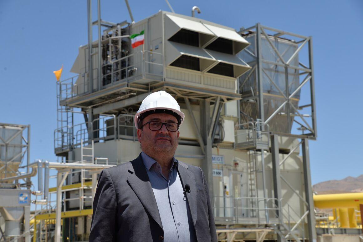 واحد یدک تاسیسات تقویت فشار گاز خورموج عملیاتی شد