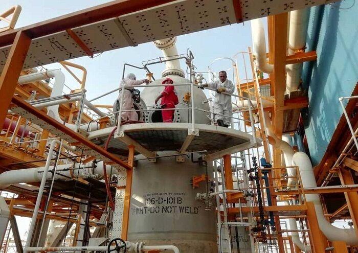 تعمیرات اساسی تأسیسات تقویت فشار گاز سیری آغاز شد