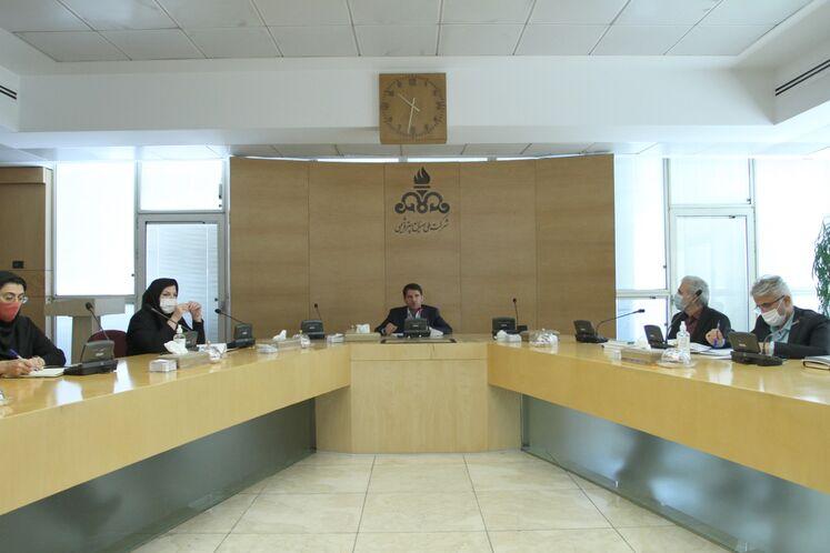 نشست خبری مدیر برنامهریزی و توسعه شرکت ملی صنایع پتروشیمی