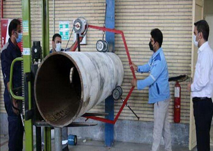 ساخت نوارپیچ خطوط لوله در زاگرس جنوبی