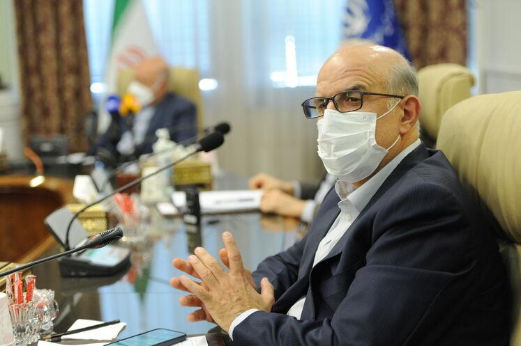 بهزاد محمدی، مدیرعامل شرکت ملی صنایع پتروشیمی ایران در صدوهشتاد و یکمین نشست اوپک