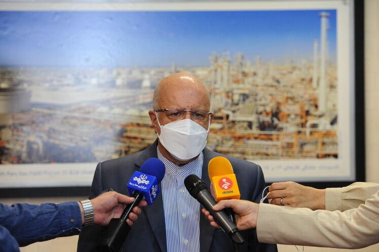 بیژن زنگنه، وزیر نفت در صدوهشتاد و یکمین نشست اوپک