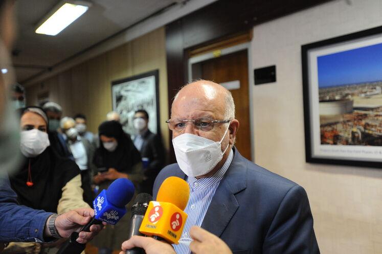 جلسه ۱۸۱ بیژن زنگنه، وزیر نفت در صدوهشتاد و یکمین نشست اوپک