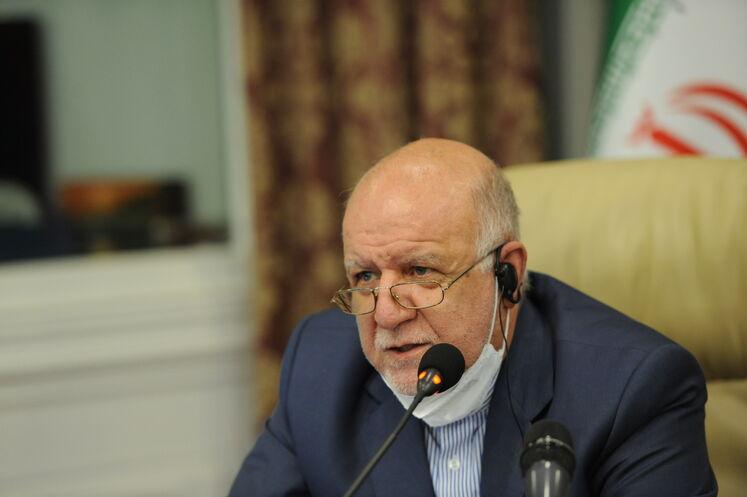 بیژن زنگنه، وزیر نفت در هجدهمین نشست وزارتی اوپک پلاس