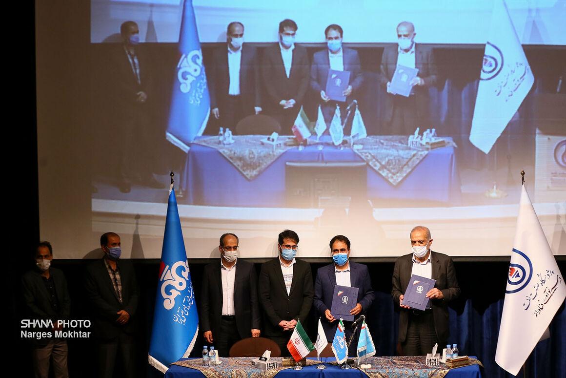 امضای قرارداد دانش فنی و مهندسی تولید کک سوزنی