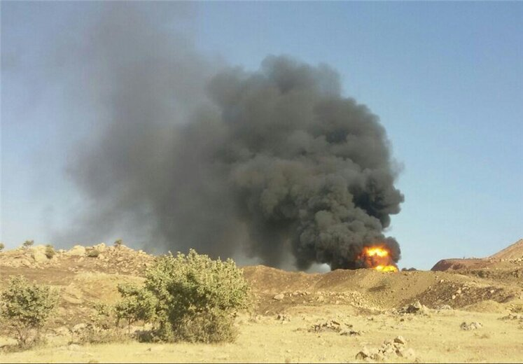 Cheshmeh Khosh Oil Pipeline to Ahvaz Explodes, Several People Killed