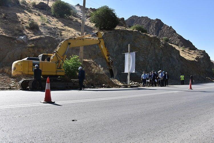 پیشرفت فیزیکی ۱۳ درصدی پروژه گازرسانی به روستاهای محور کرج - چالوس