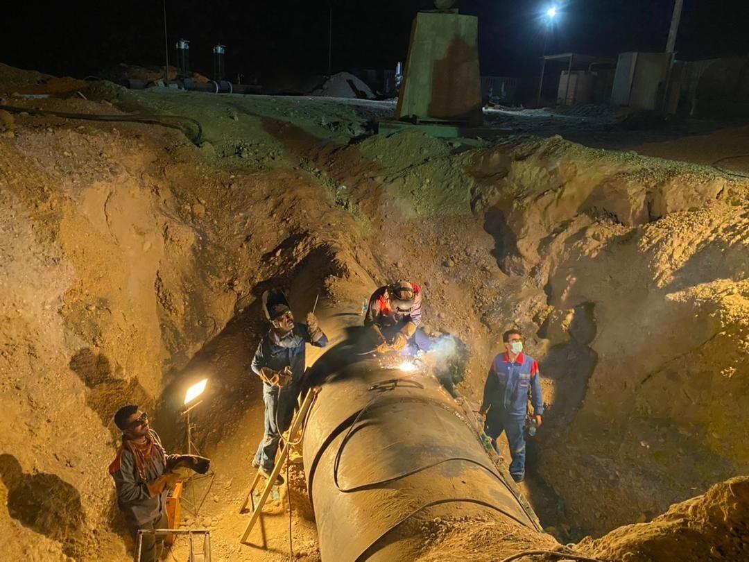 نشتیابی بیش از یک هزار کیلومتر خطوط لوله انتقال گاز
