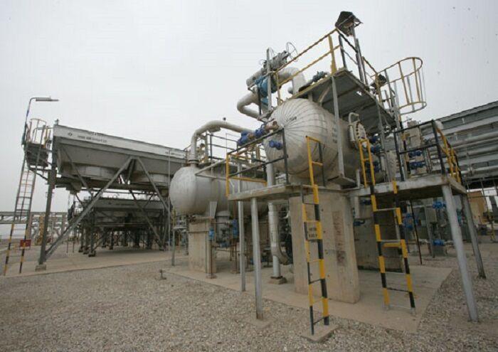 پایان تعمیرات ایستگاه تقویت فشار گاز آماک