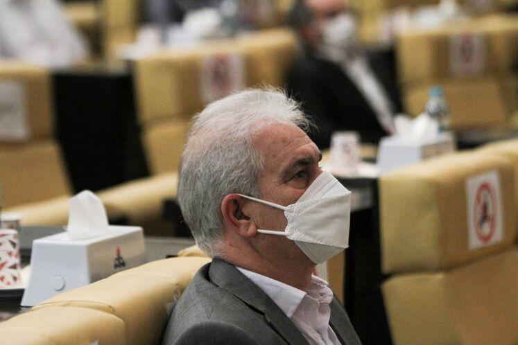 علی زالخانی، مدیرعامل شرکت فجر انرژی خلیج فارس