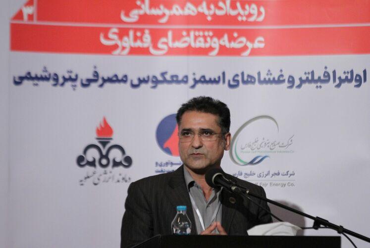 محمدرضا سمیعی، مدیرعامل شرکت دماوند انرژی عسلویه
