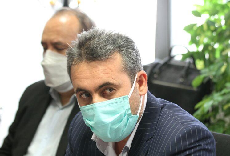 بابک فولادی، مدیرعامل پترو گوهر فراساحل کیش