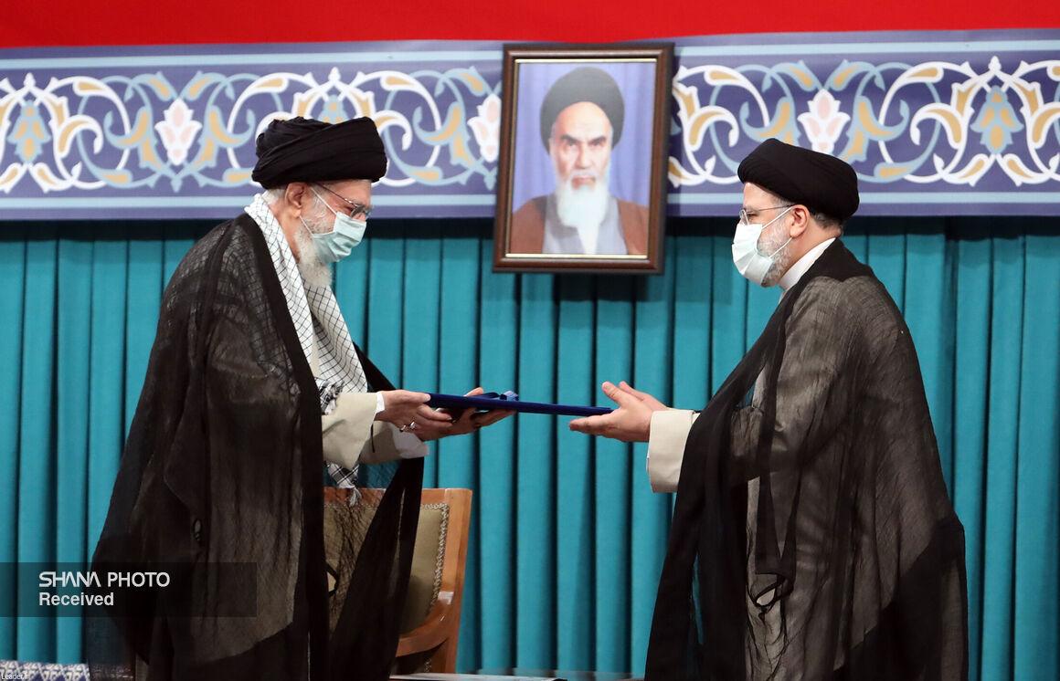 آیین تنفیذ حکم رئیس جمهوری ابراهیم رئیسی