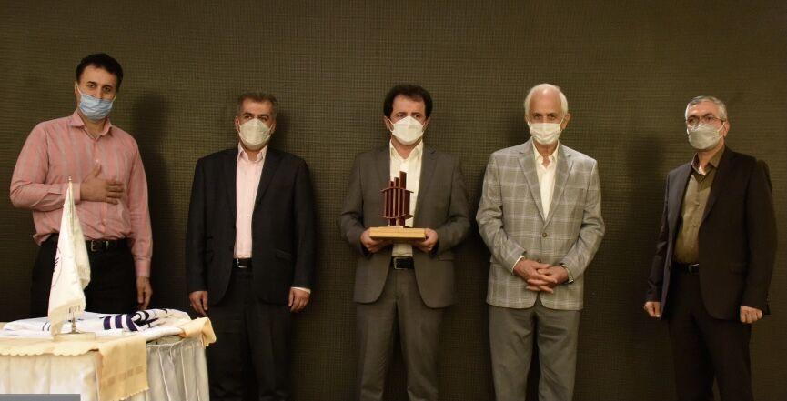 شرکت ملی گاز لوح سپاس ۶ ستاره جایزه ملی مدیریت دارایی فیزیکی گرفت