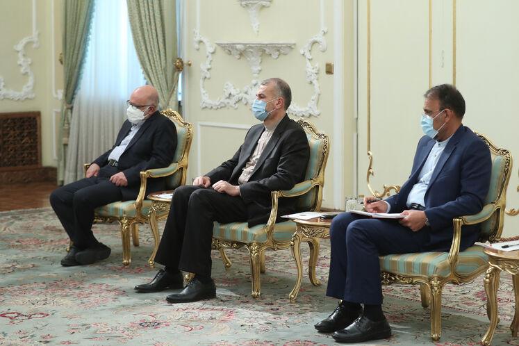 دیدار رئیس جمهوری با دبیرکل اوپک