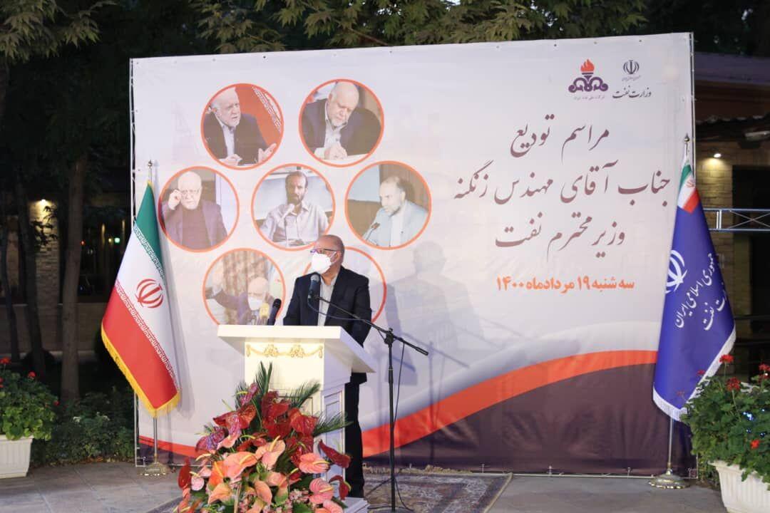 آیین تودیع وزیر نفت با حضور مدیران ارشد صنعت نفت برگزار شد