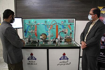 رونمایی از ماکت شبیهسازی عملکرد تجهیزات گازرسانی در مشهد