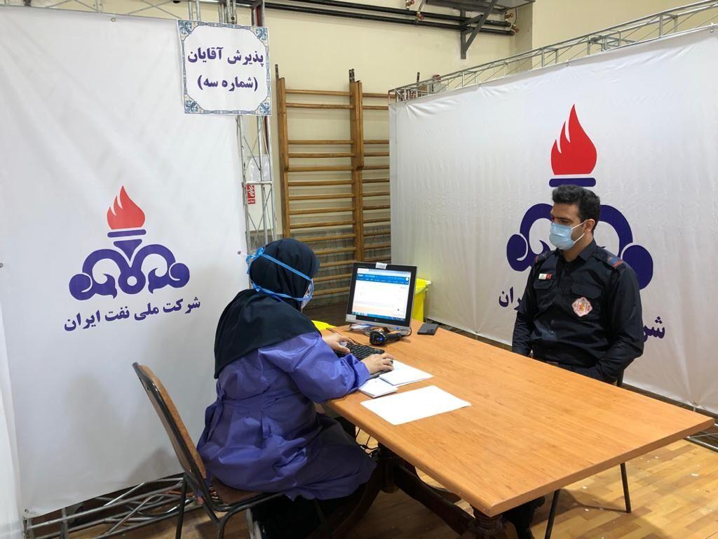 واکسیناسیون کارکنان صنعت نفت تهران آغاز شد
