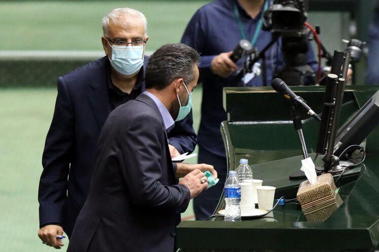 جلسه رأی اعتماد وزیر پیشنهادی نفت در مجلس شورای اسلامی