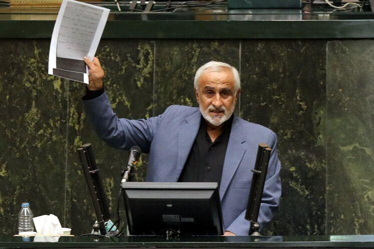 الیاس نادران، نماینده تهران در مجلس و مخالف وزیر پیشنهادی نفت