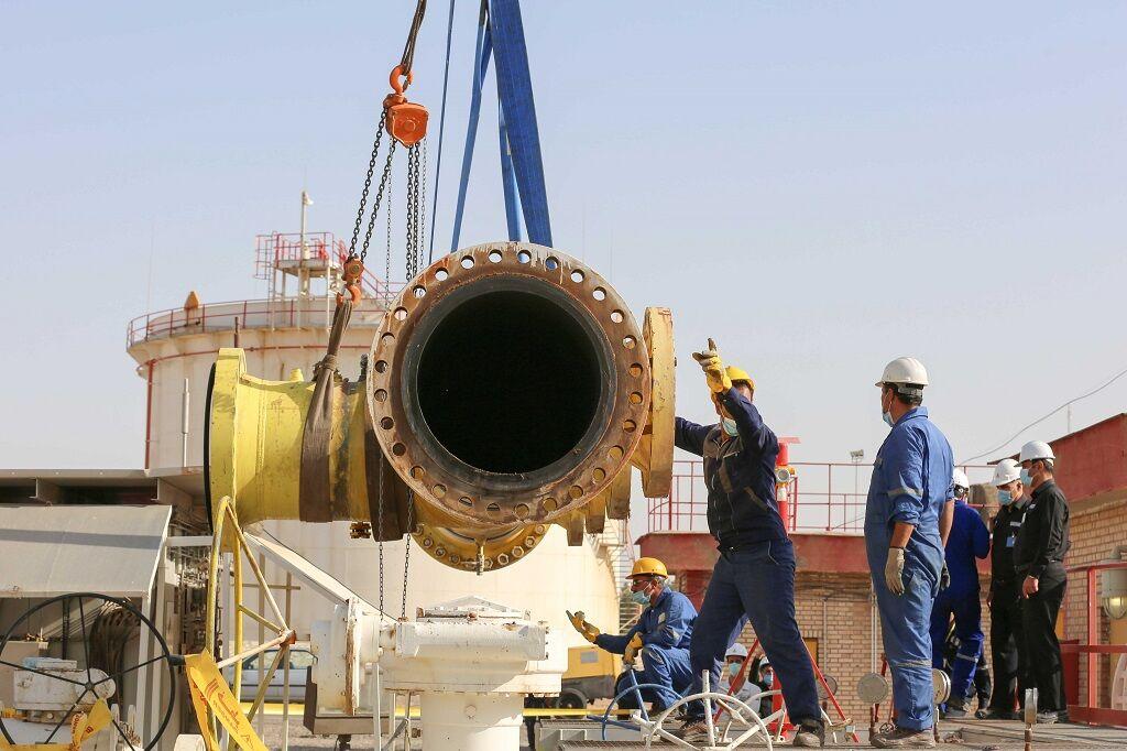 انجام عملیات تعمیرات کلی در پالایشگاه شهید هاشمینژاد
