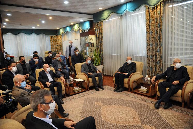 نخستین روزی کاری وزیر نفت دولت سیزدهم