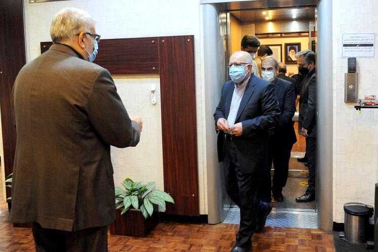 دیدار و گفتوگوی وزیر نفت با زنگنه