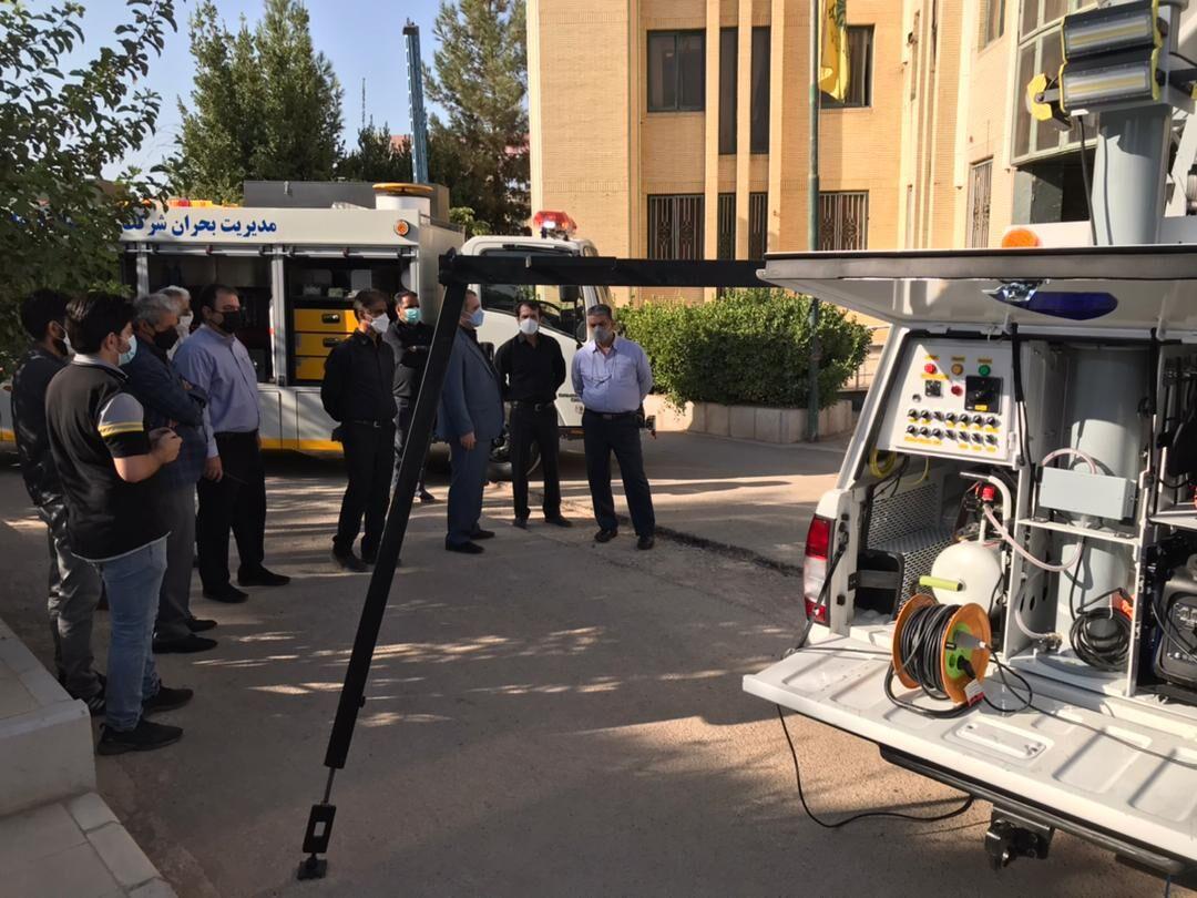 رونمایی از نخستین خودرو پیشرو مخابراتی بحران در گاز کرمان
