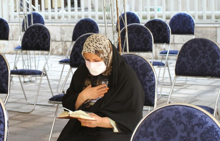 آیین سوگواری شهادت امام سجاد (ع) در وزارت نفت