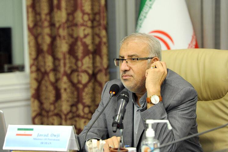 جواد اوجی، وزیر نفت در بیستمین نشست وزیران نفت و انرژی اوپک پلاس