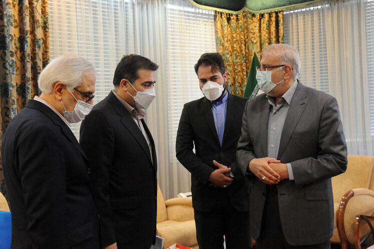 نخستین دیدار خارجی وزیر نفت دولت سیزدهم