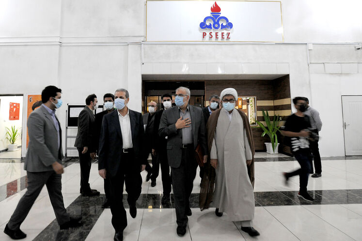 سفر جواد اوجی، وزیر نفت به عسلویه