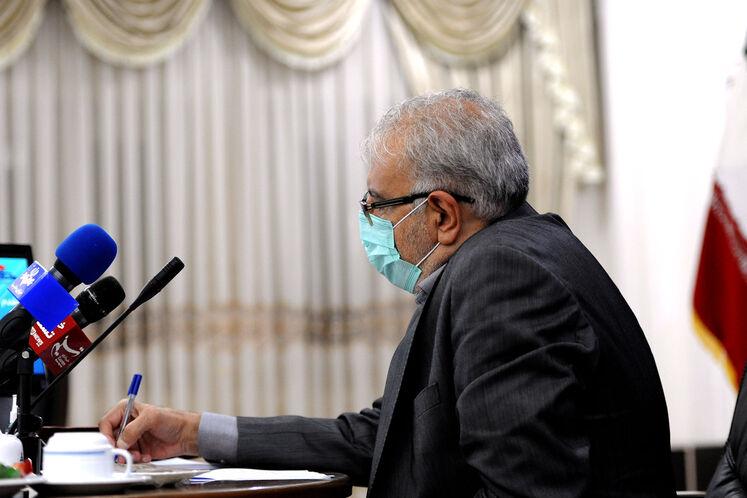Iranian Minister of Petroleum Javad Owji