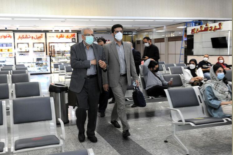سفر جواد اوجی، وزیر نفت به منطقه ویژه اقتصادی انرژی پارس
