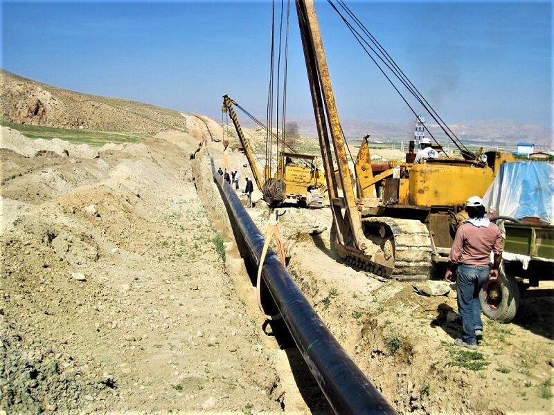 گازرسانی به روستاهای نقطه صفر مرزی در کرمانشاه