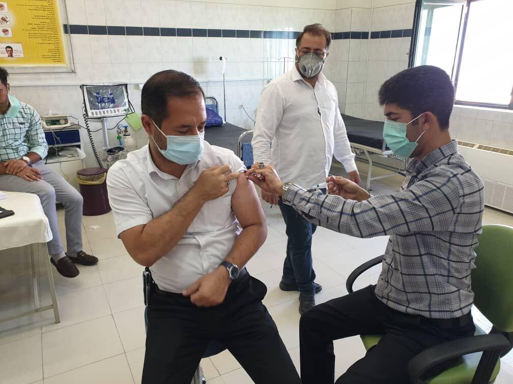 انجام واکسیناسیون کارکنان پالایشگاههای گاز ایران