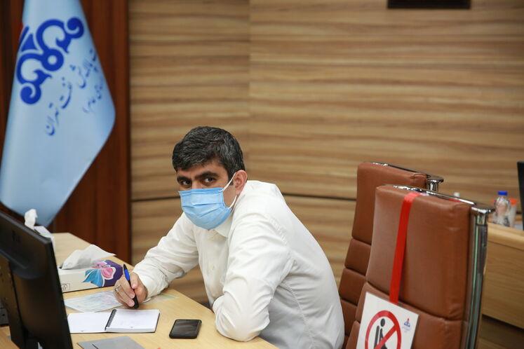 علیرضا صادقآبادی، مديرعامل شرکت ملی پالایش و يخش