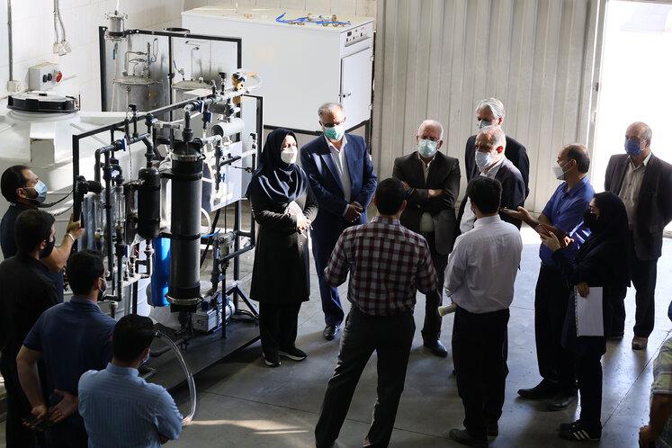 گاززدایی از محلولهای آبی در مرکز نوآوری پژوهشگاه نفت