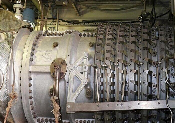 توربین ایستگاه تزریق گاز کرنج راهاندازی شد