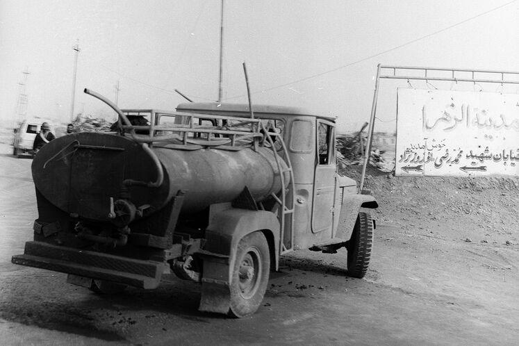 سوخترسانی به مناطق جنگی
