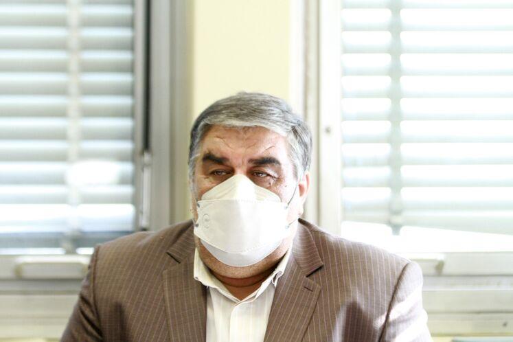 فتحالله حسینی، رئیس امور ایثارگران وزارت نفت