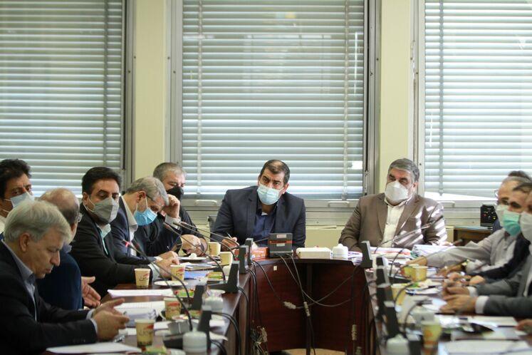 نشست کارگروه منابع انسانی وزارت نفت