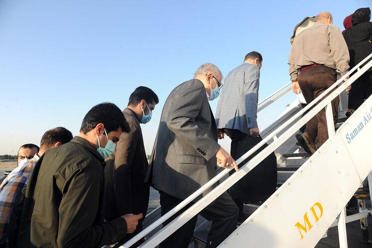 سفر جواد اوجی، وزیر نفت به استان خوزستان/ روز جمعه ۲۶ شهریورماه، فرودگاه مهرآباد