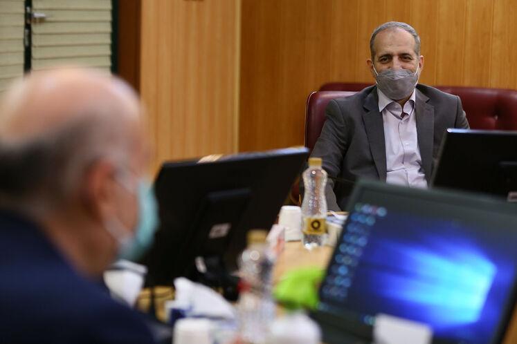 نخستین روز کاری مدیرعامل جدید شرکت ملی گاز ایران