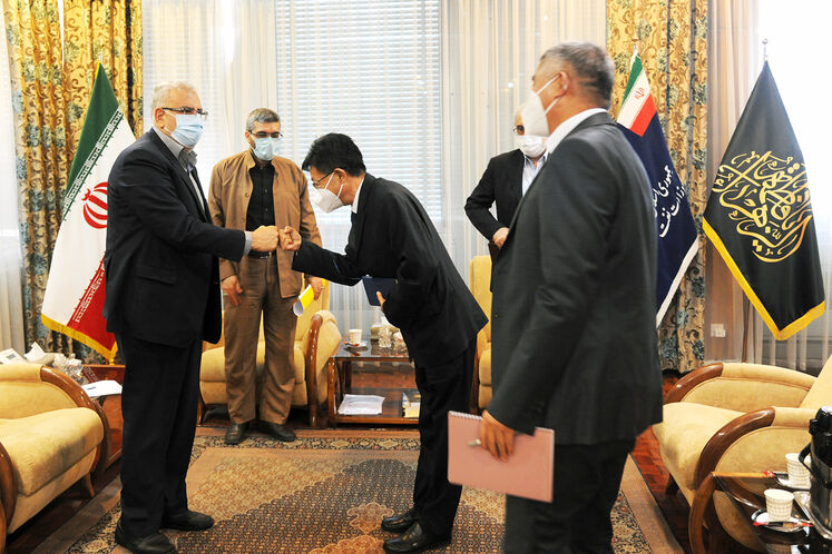 دیدار وزیر نفت با مدیران شرکت سینوپک چین