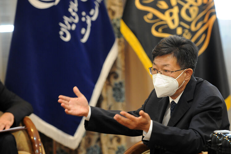 ژونگ گویدونگ، مدیر دفتر تهران شرکت سینوپک چین