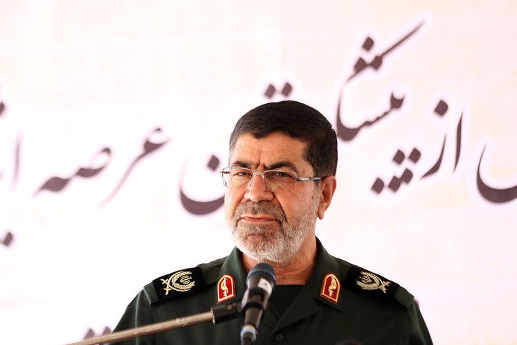 سردارسرتیپ دوم پاسدار رمضان شریف، سخنگو و مسئول روابط عمومی کل سپاه پاسداران انقلاب اسلامی