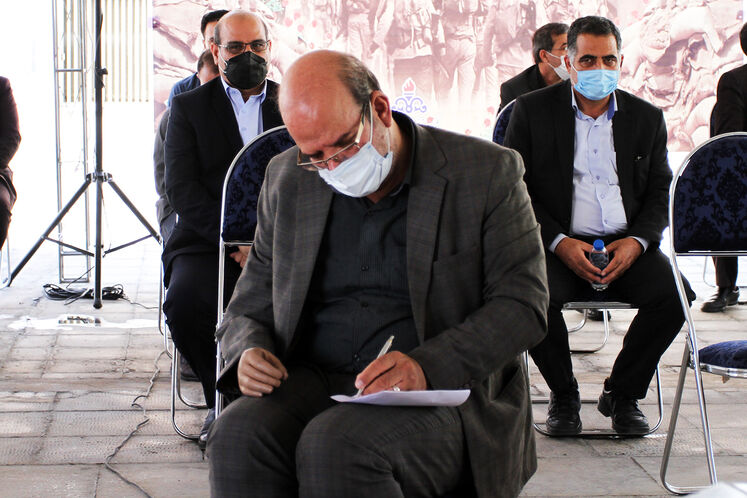 محمدعلی فلاح مهرجردی، فرمانده بسیج وزارت نفت