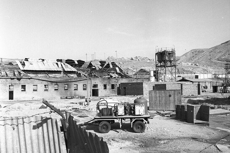تخریب واحد تزریق گاز در جنگ، سال ۱۳۶۸
