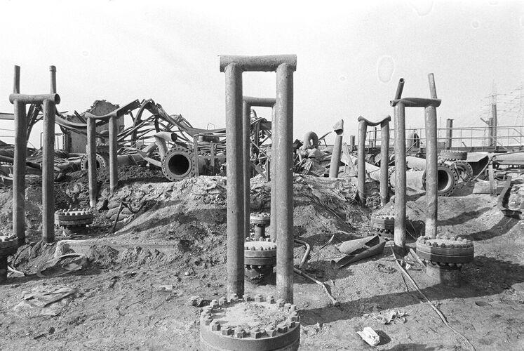 تخریب تأسیسات پازنان در جنگ، سال ۱۳۶۷